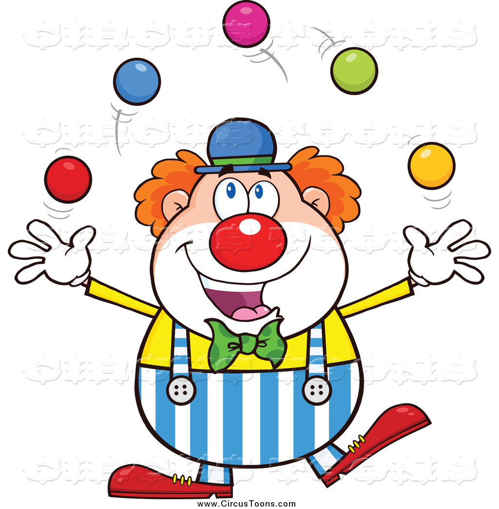 Royalty Free Juggle Stock Circus Designs.