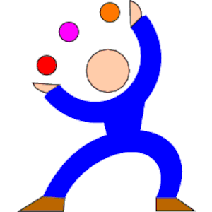 Juggle clipart, cliparts of Juggle free download (wmf, eps, emf.