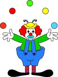Juggling Clip Art.