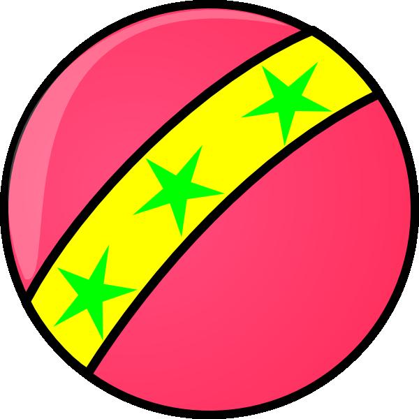 Pink Soccer Ball Clipart.