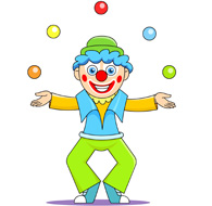 Free Circus Clipart.