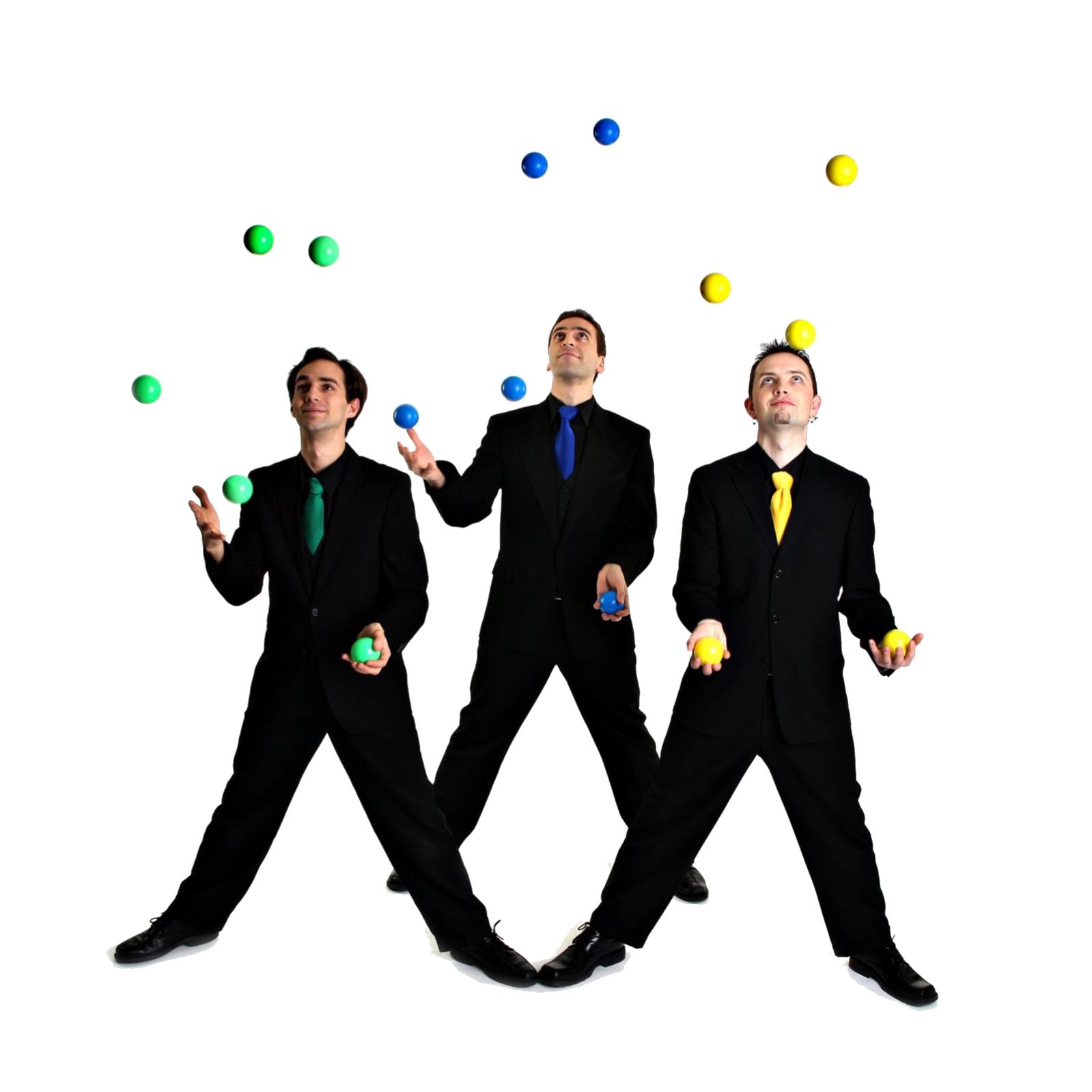 Juggling PNG Transparent image.