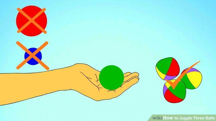 3 Easy Ways to Juggle Three Balls.