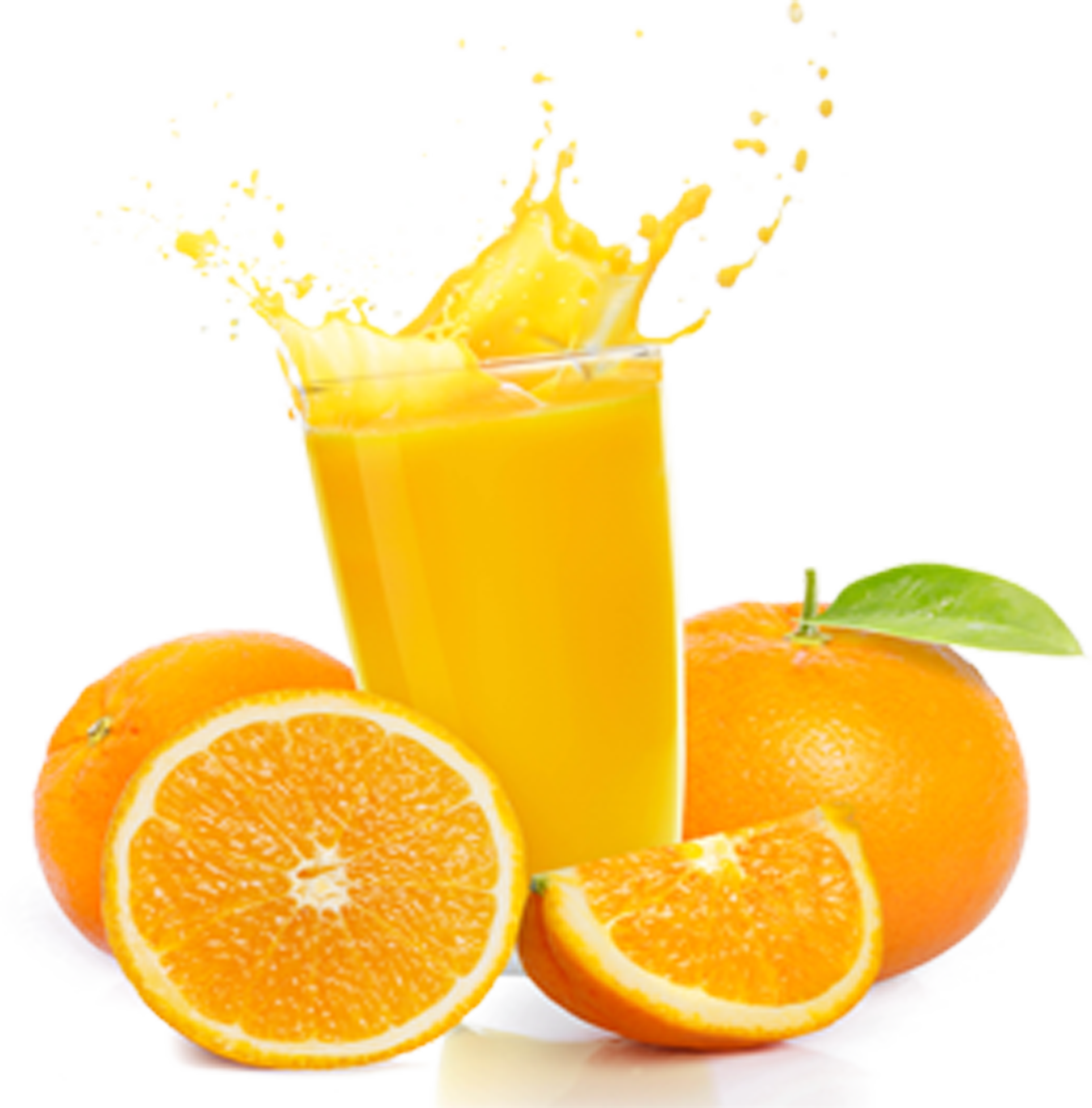 Orange Soft Drink Oranges Clipart.