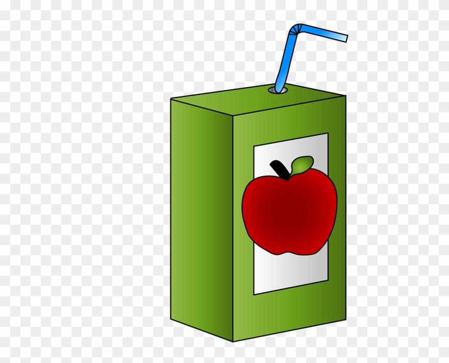 School Apple Juice Carton.