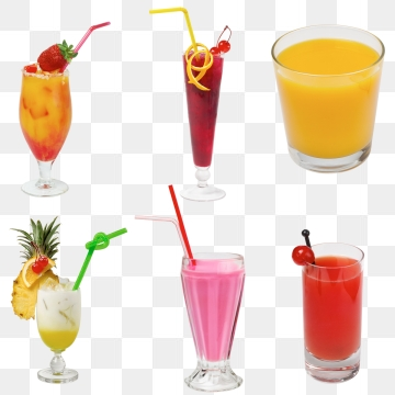 Fruit Juice PNG Images.