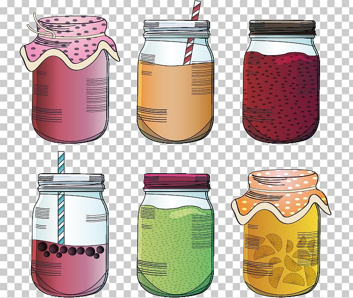 Mason jar Euclidean Glass, Hand.