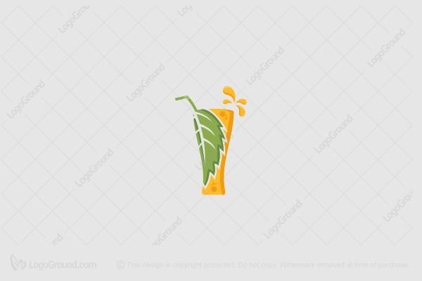 Exclusive Logo 188564, Mint Juice Logo.