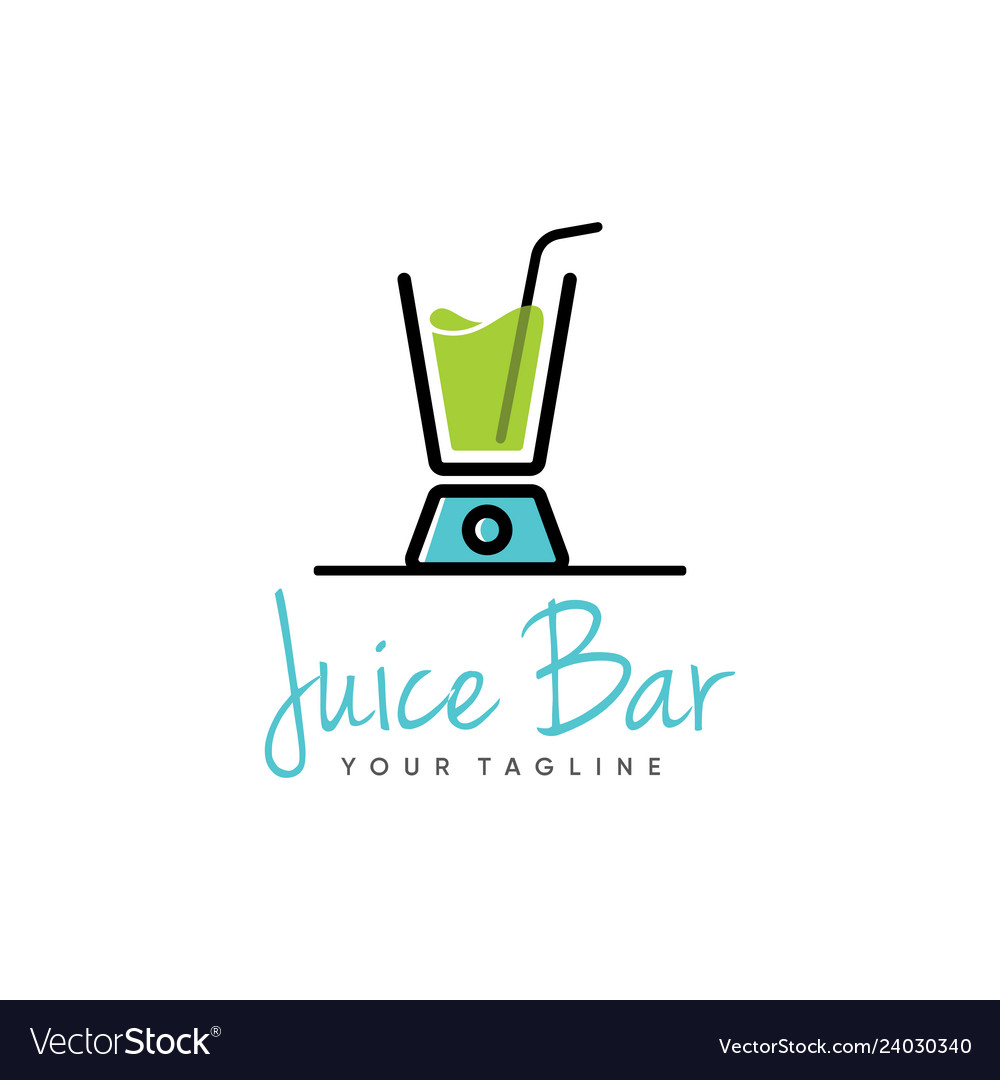 Juice logo design.
