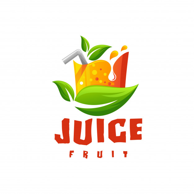 Juice logo vector Vector.