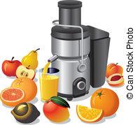 Juice extractor Vector Clipart Royalty Free. 74 Juice extractor.
