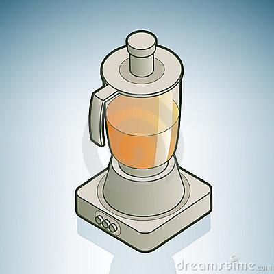 Fruit Juicer Clip Art.