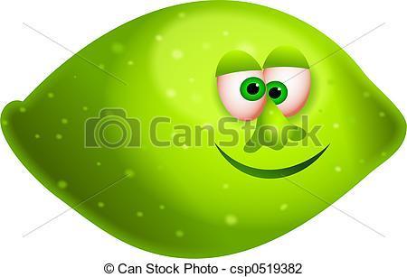 Clip Art of mr lime.