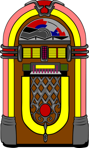 Vector jukebox image.