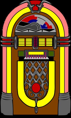 Vector jukebox image.