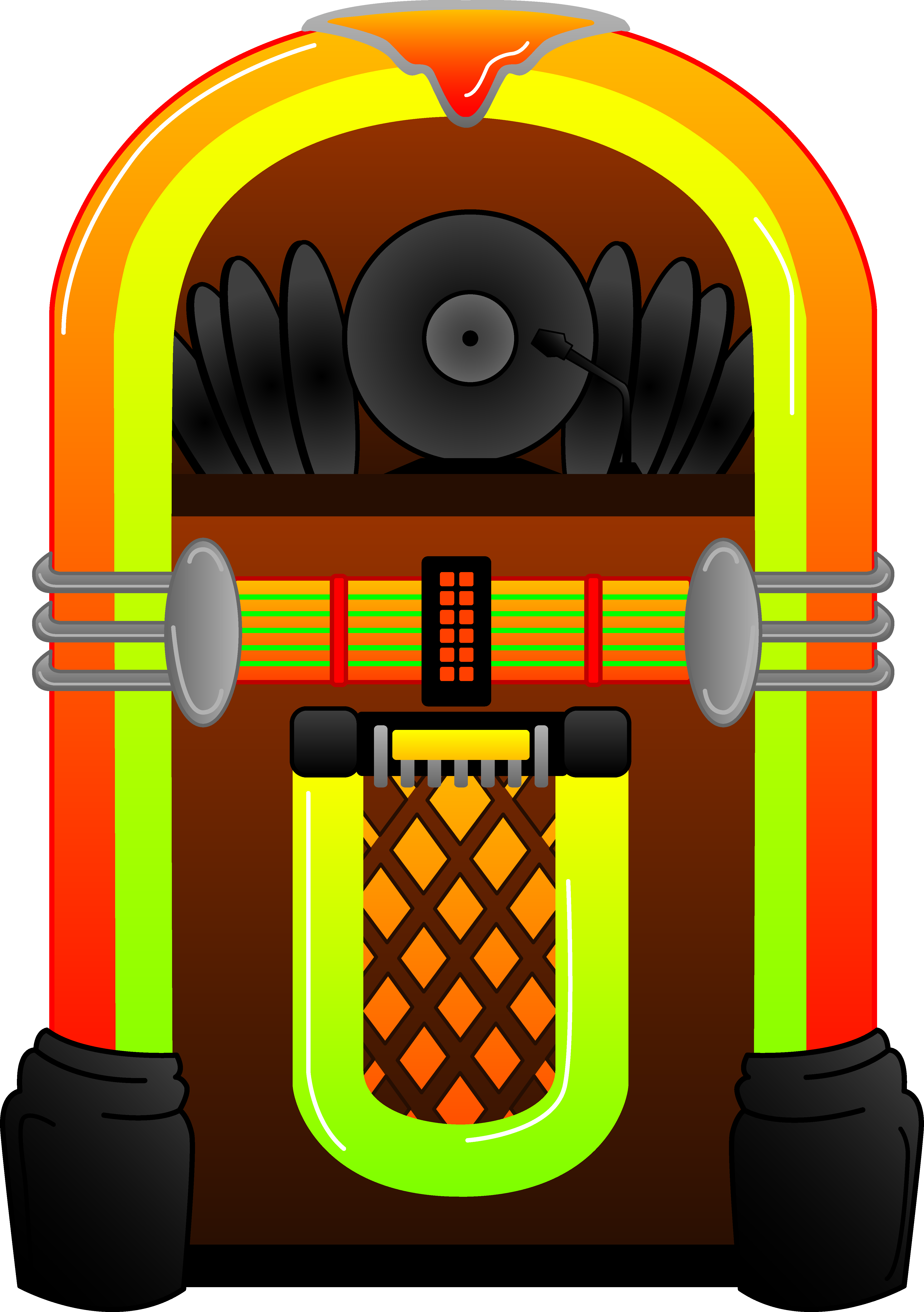 Free clipart jukebox.