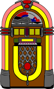Fifties Jukebox 3 Clip Art at Clker.com.