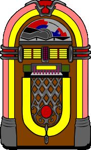 Fifties Jukebox 3 Clip Art at Clker.com.
