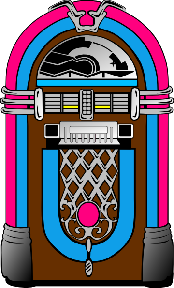 Jukebox Clipart.