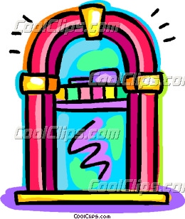 Jukeboxes Clip Art.