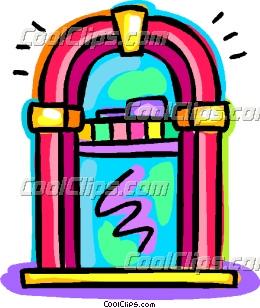 Jukeboxes Clip Art.
