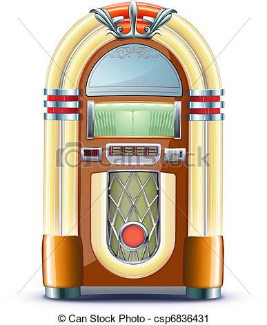 Jukebox Clip Art Page 1.