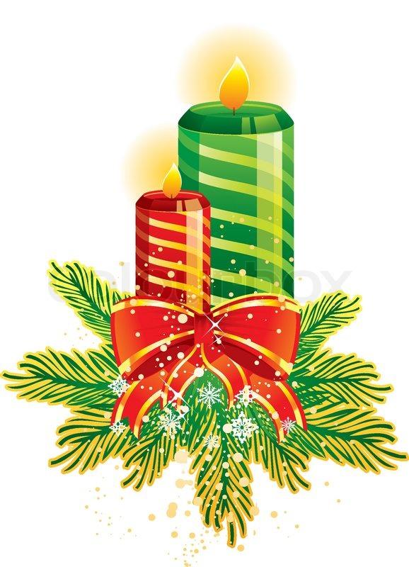Clipart kristen jul.