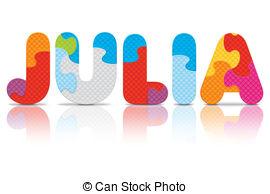 Julia Vector Clip Art EPS Images. 6 Julia clipart vector.