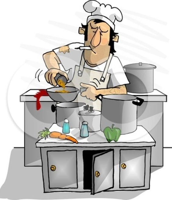 Messy Kitchen Clipart: Julian Clipart