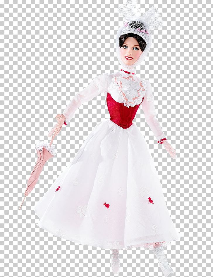 Julie Andrews Mary Poppins Barbie Amazon.com Doll PNG.