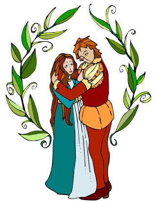 Romeo and juliet clip art.