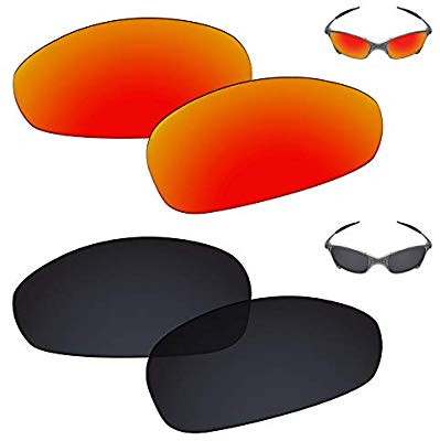 Galvanic Replacement Lenses for Oakley Juliet Sunglasses.