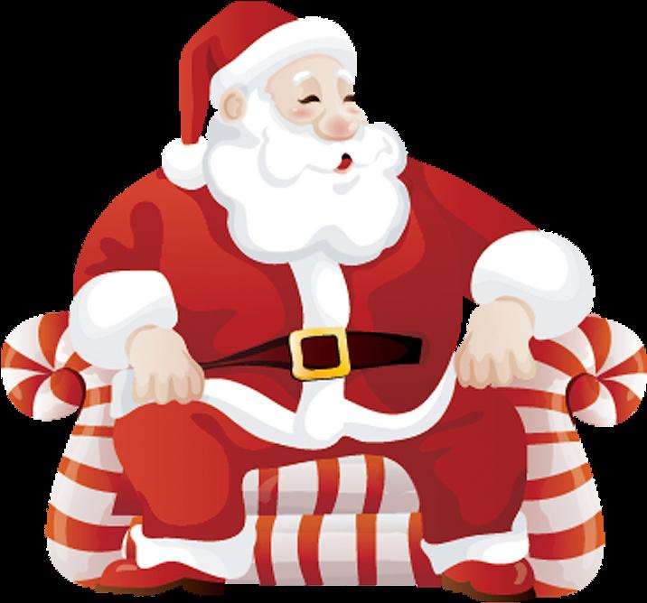 Santa Claus And Kids Png , Transparent Cartoon.