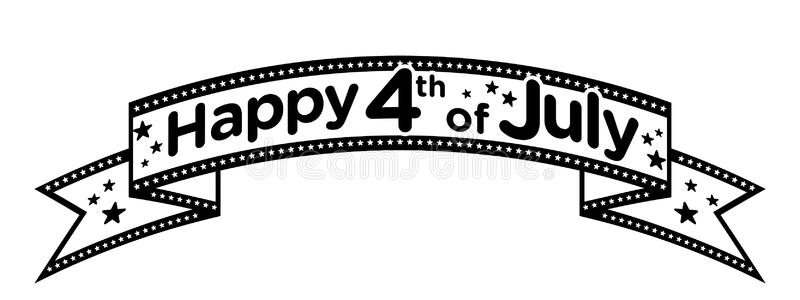July 4th clipart black and white 3 » Clipart Station.