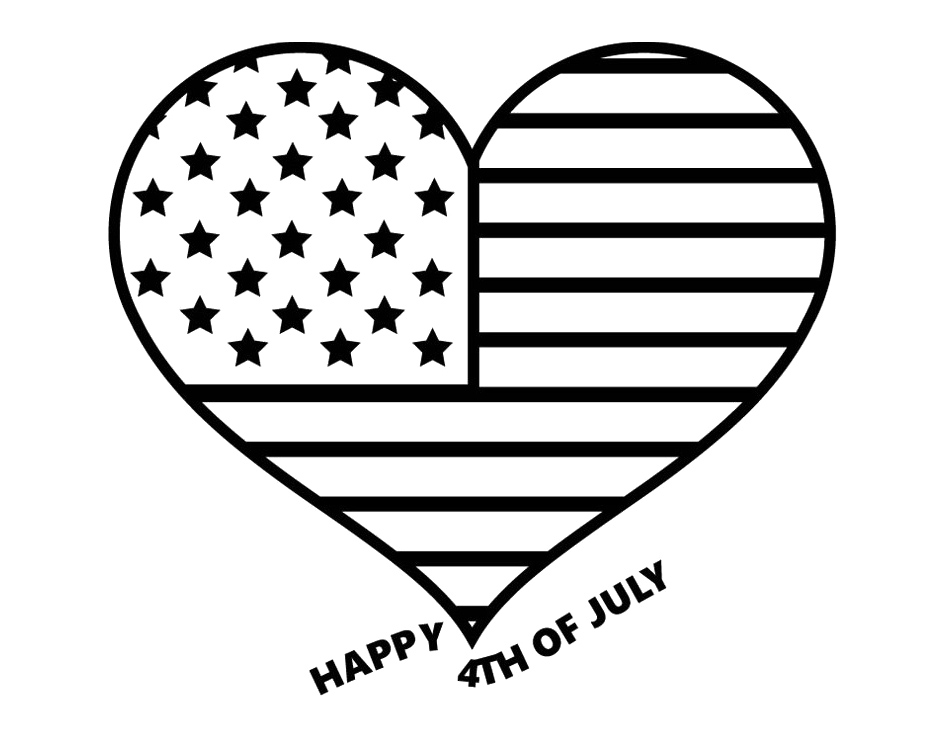 Free Fourth Of July Clipart Black And White, Download Free.