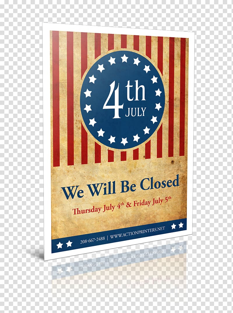 Independence Day CLOSED.