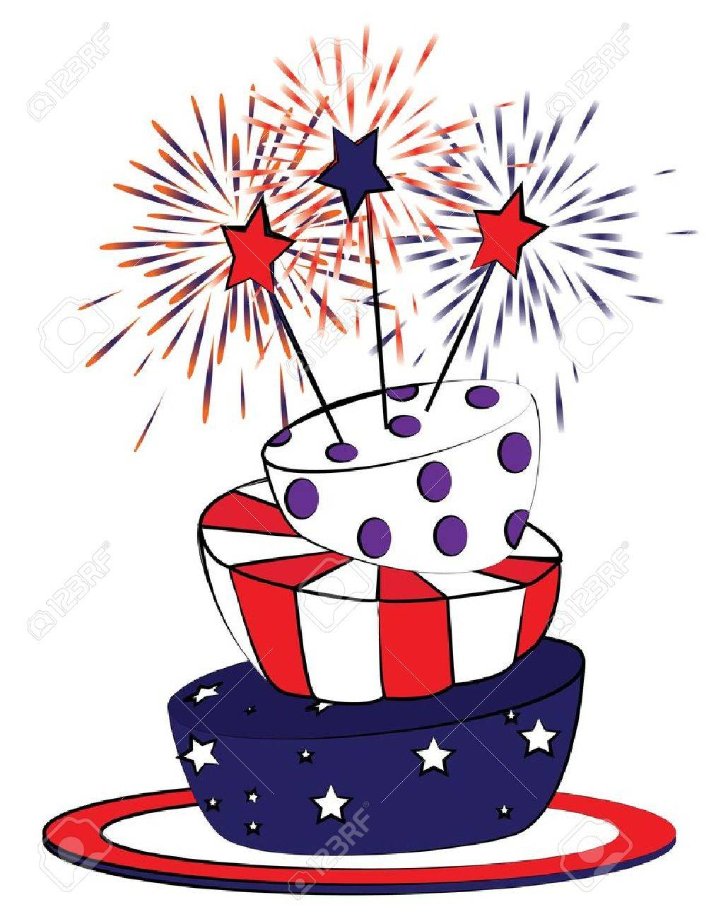 4th of july birthday clipart 9 » Clipart Station.