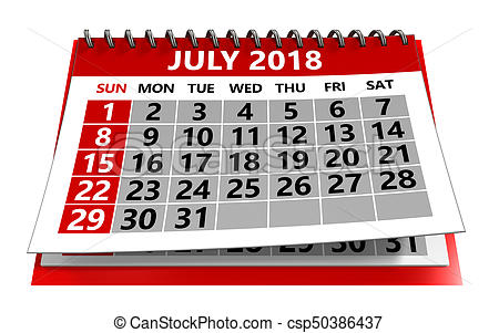 July calendar clipart » Clipart Station.