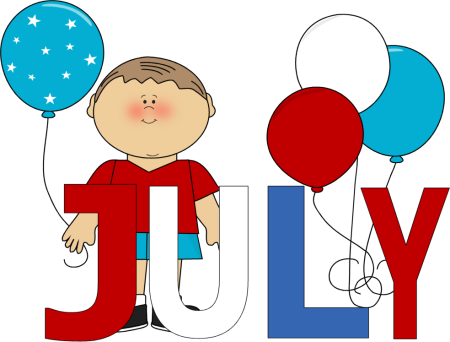 month of july.