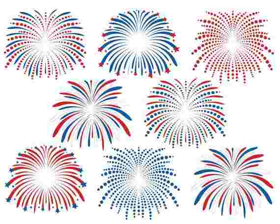 Best Cliparts: Hellacious Firework Clipart 4th Of July.