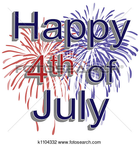 Fourth of july free clipart.