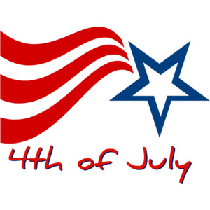 Fourth of july clip art.