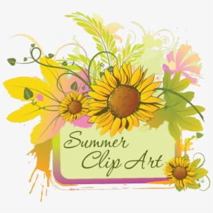 Summer Clip Art Of June July And August Graphics.