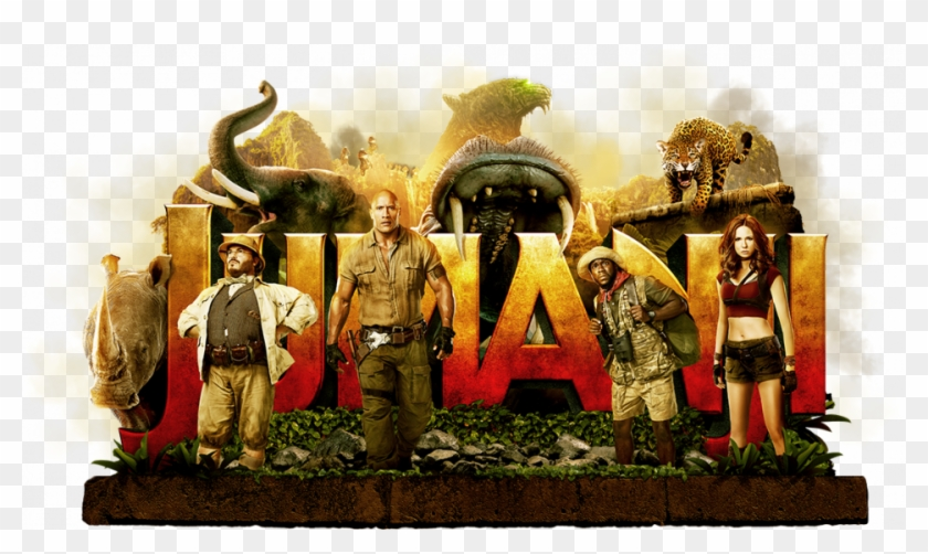 In A Brand New Jumanji Adventure, Four High School.