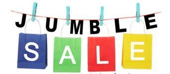 jumble sale.