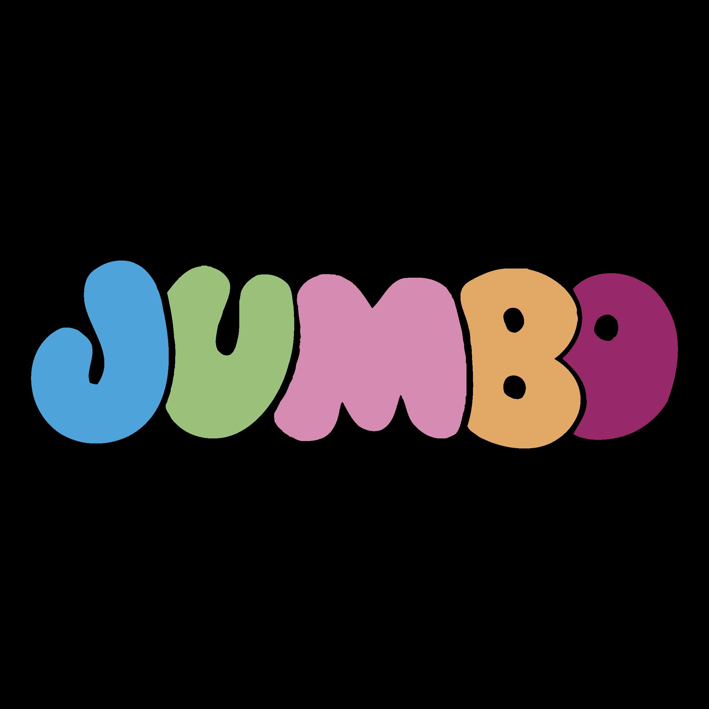 Jumbo Logo PNG Transparent & SVG Vector.
