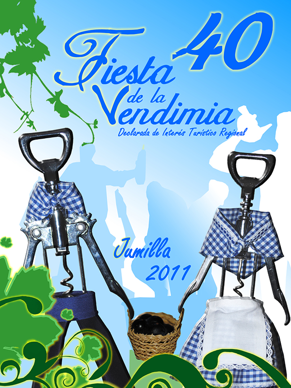 Portada Revista 40 Fiesta de la Vendimia Jumilla on Behance.