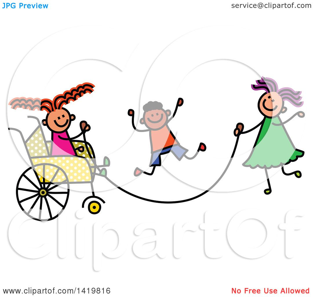 Showing post & media for Cartoon jumping rope with friends.