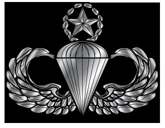 Airborne Parachutist Badge [Airborne badge].