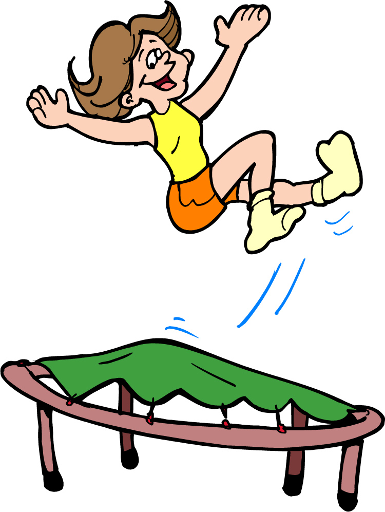Jumping Clipart.